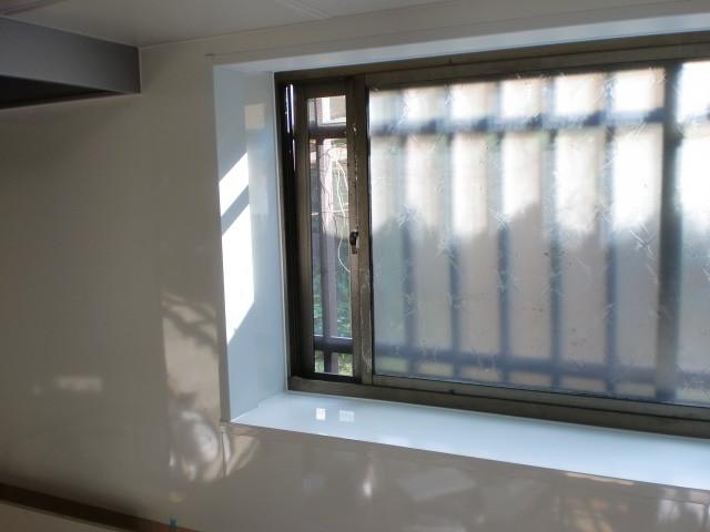 施工後 キッチン窓周囲
