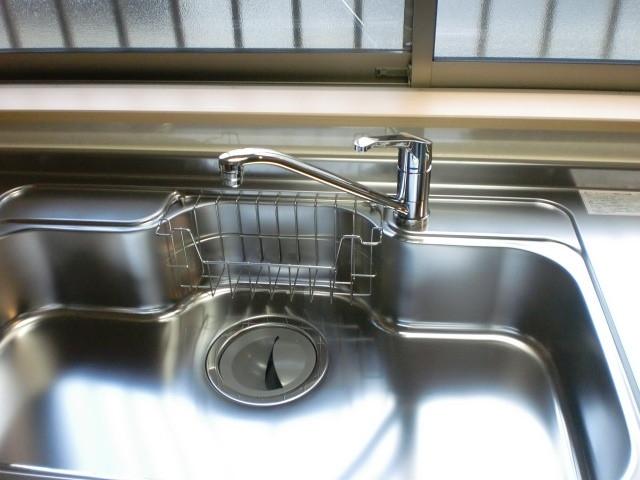 シンク シングルレバー水洗
