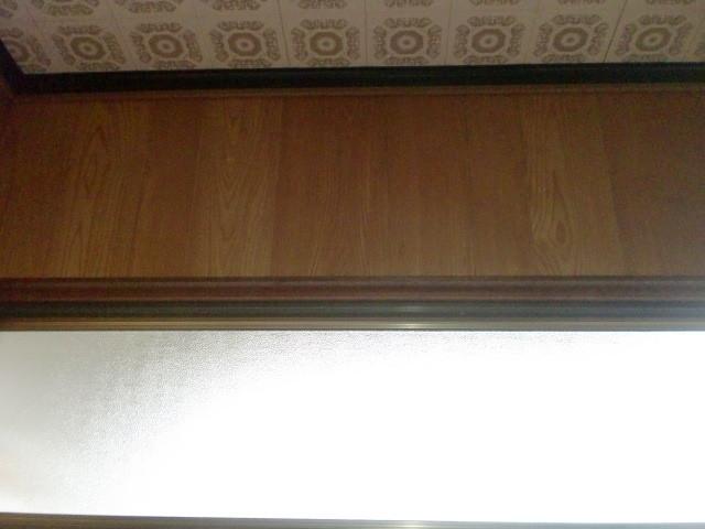 施工前 玄関・廊下 壁プリントベニア ③