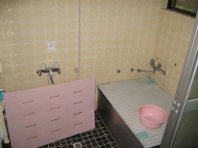 施工前 在来浴室