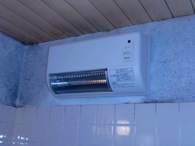 施工前 浴室暖房換気扇壁掛けタイプ⇔脱衣室へ移設