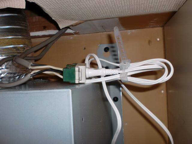 施工後 電気配線
