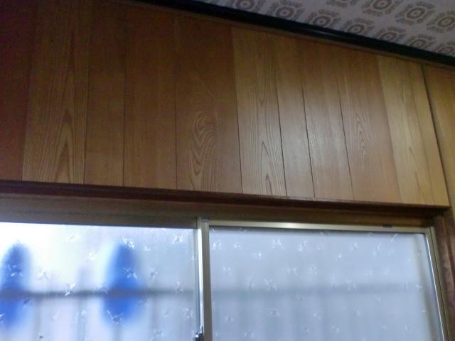 施工前 玄関・廊下 壁プリントベニア ②