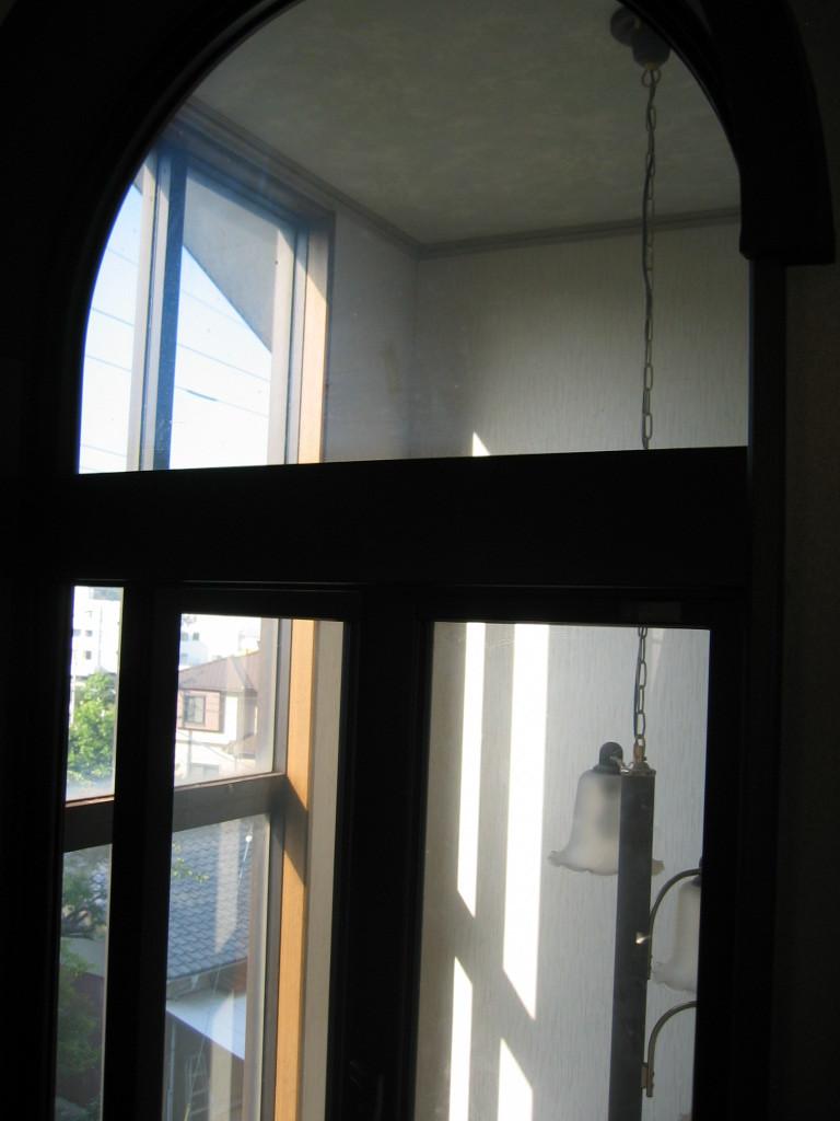 子供室 アール窓