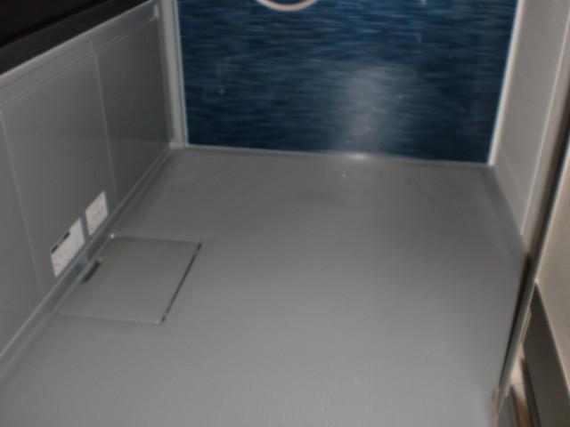 施工後 クリナップ システムバス 施工 (床)