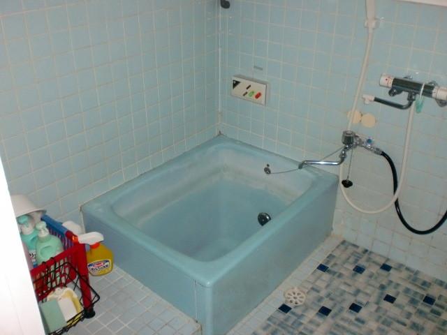 施工前 在来浴室 タイル
