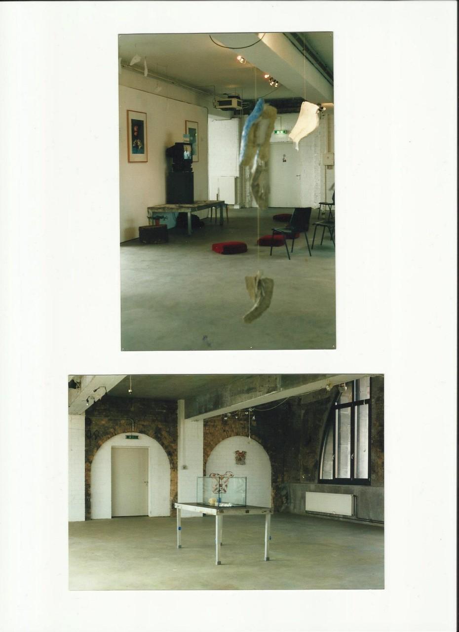 Berliner Kunsthaus Tacheles - Ausstellung, 2004