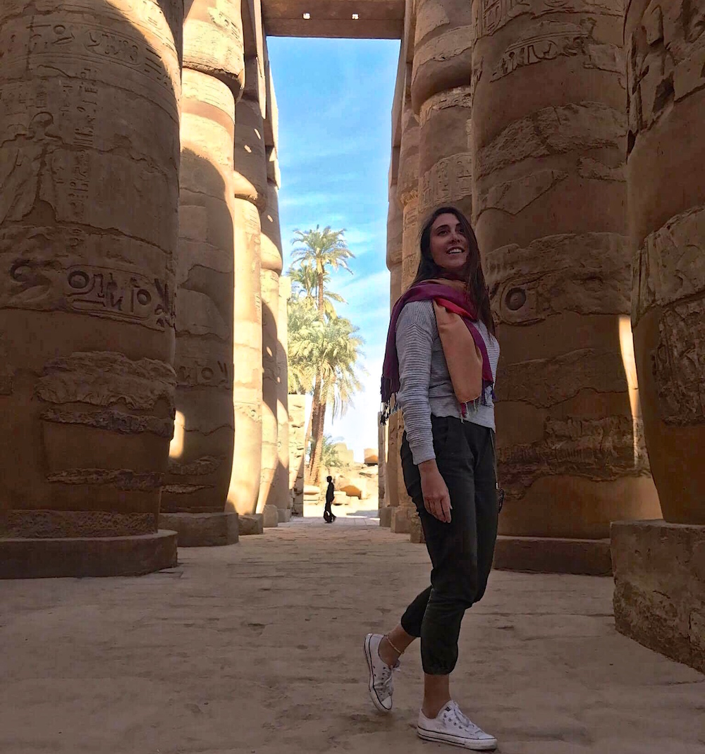 Yes, I'm a female travelling around Egypt alone, and no you should not be worried