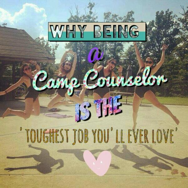 what is it like being a camp counsellor