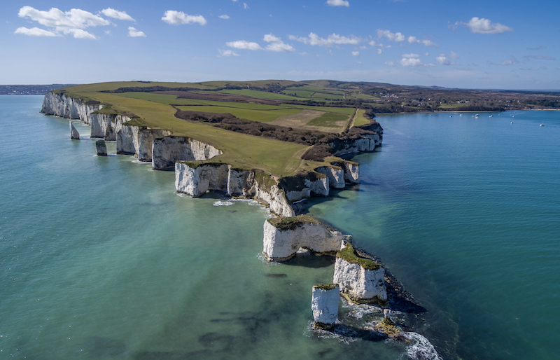 Old harry rocks . Photo credit Dorset Leisure holidays