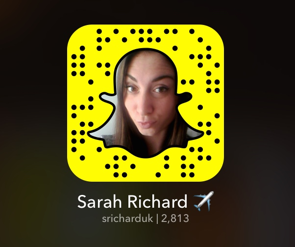 travel blogger snap chat