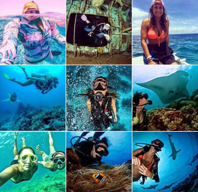 Image result for HOT scuba diving