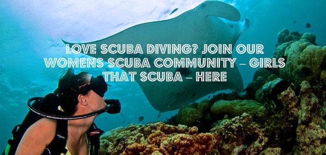 girls that scuba dive