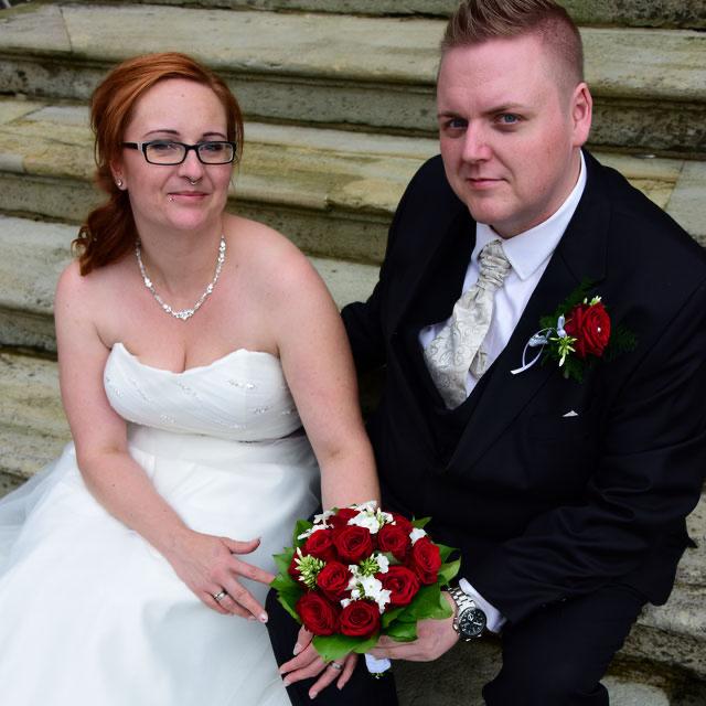Conny & Tobias Buschmann bei Ihrer Hochzeit