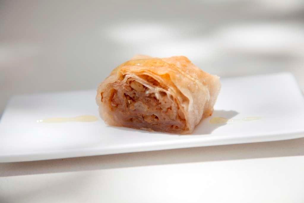 Homemade bakllava - we often hear it's the best ever!
