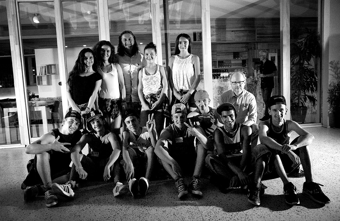 The Urban Dance Crew of the Diakonie Youth Center in Mitrovica
