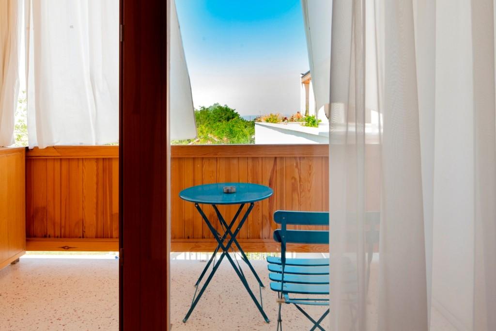 Balcony of superior single room