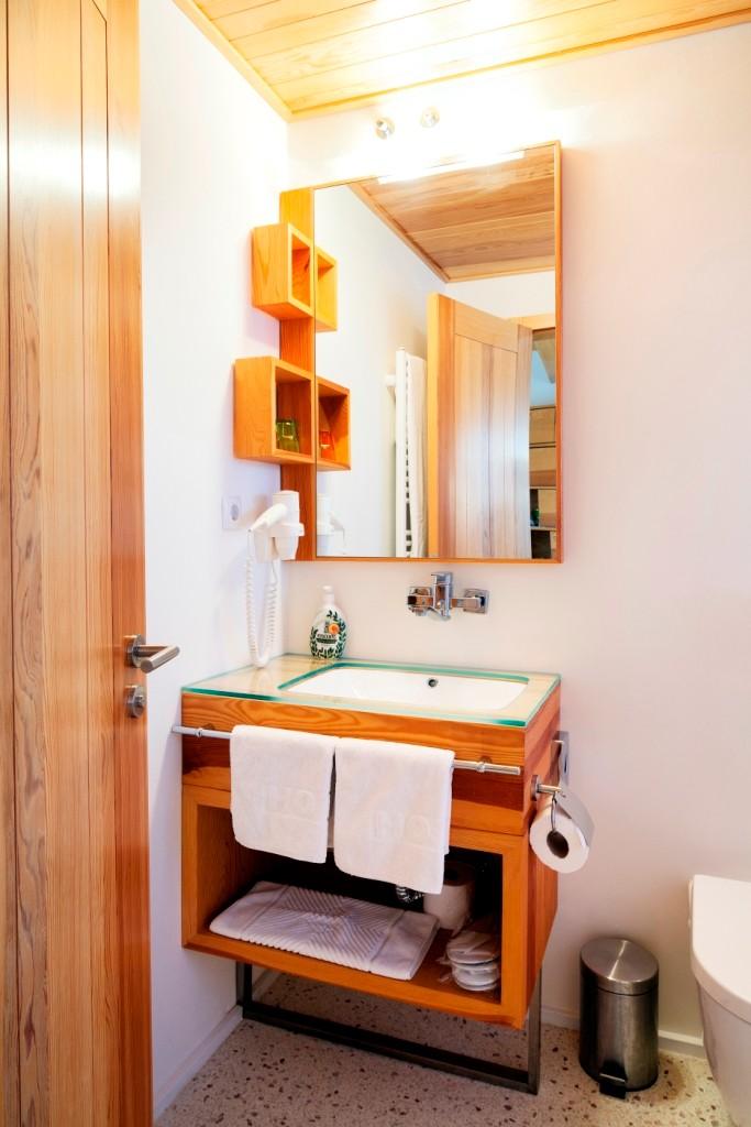 Bathroom in superior studio
