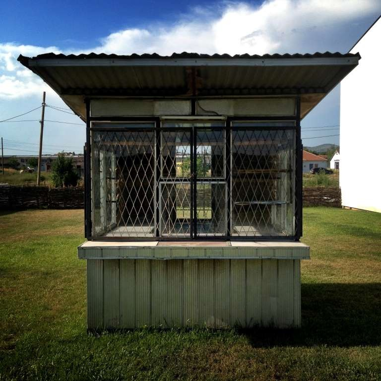 Kiosk for art projects