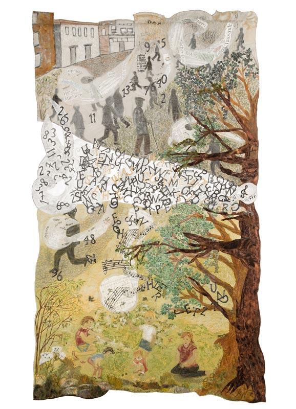 Verborgen (2015)  |  75 x 130 cm