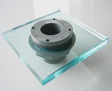 Bild: Aquariumverschraubung, Behälterdurchführung, Aquariumanschluss