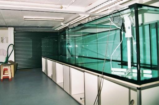 Nach Fertigstellung musste 6 Wochen gewartet werden. Ein Ventilator unterstützte den Prozess durch Austreiben der Essigsäure.