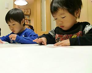 教室中の子どもの様子