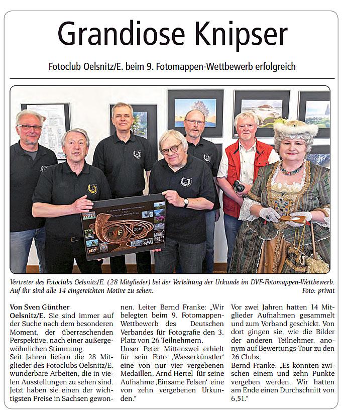 Wochenendspiegel Ausgabe Stollberg vom 27.04.2018