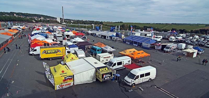 Sachsenring Fahrerlager