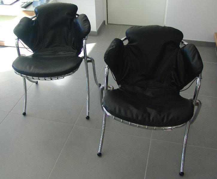 restauration fauteuils modernes