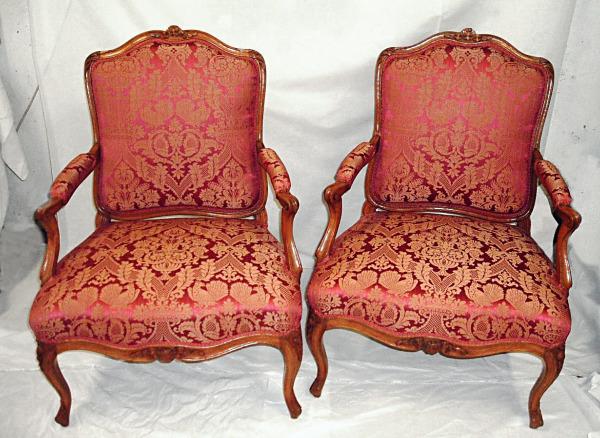 restauration fauteuil ancien