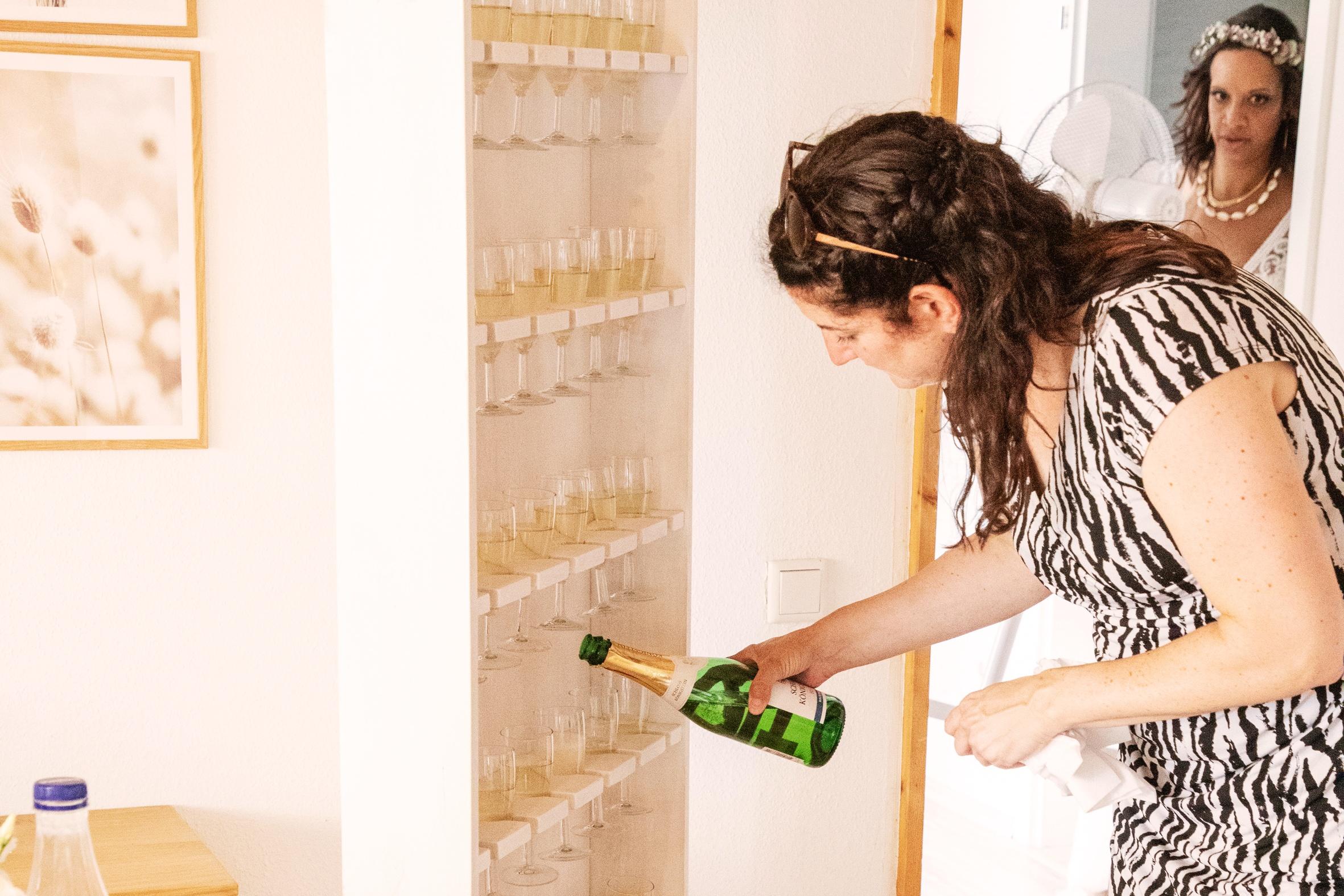 Die Hochzeitstorte ist eines der Highlight bei einer Hochzeitt