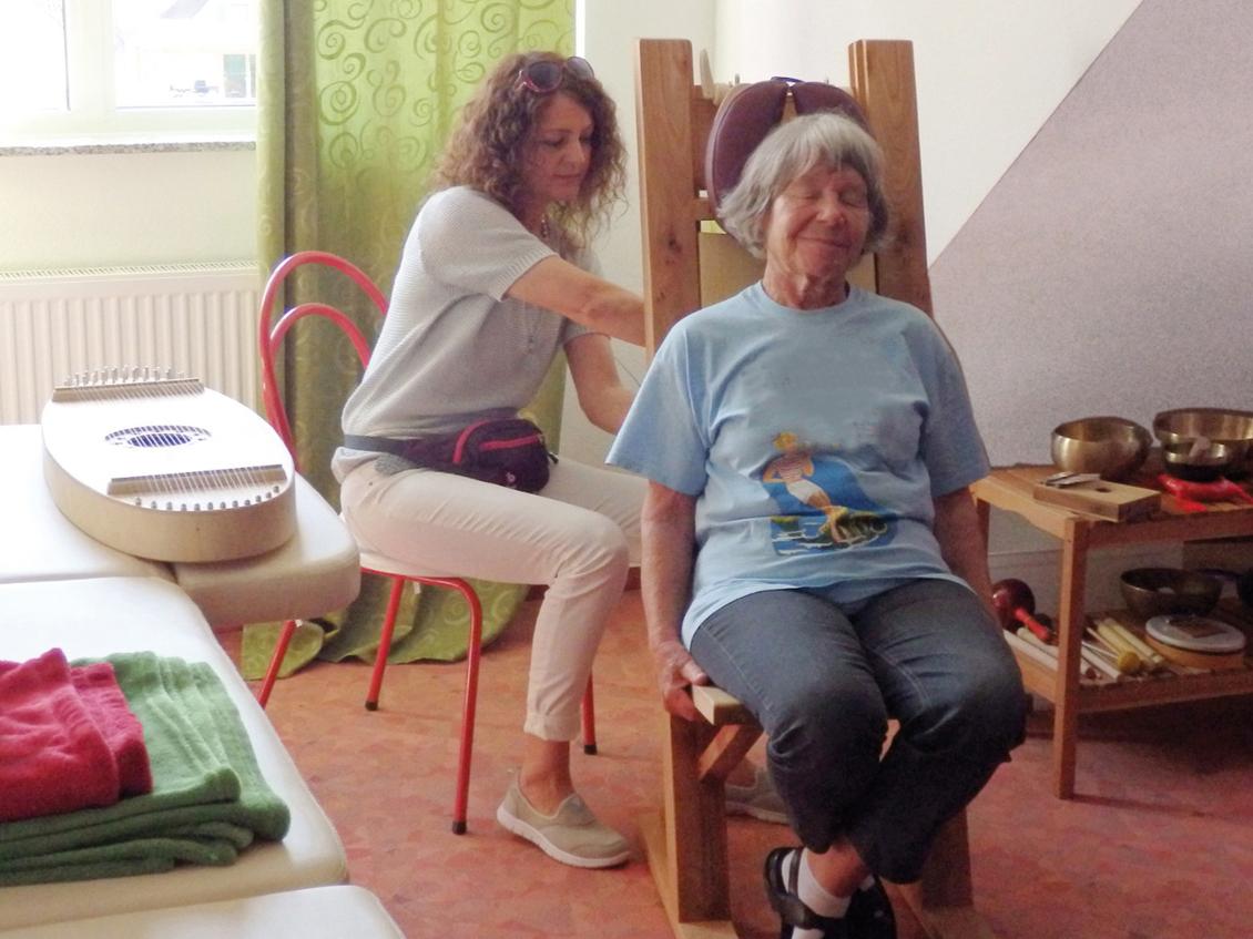 Klanganwendung im Seniorenheim in Gernsheim