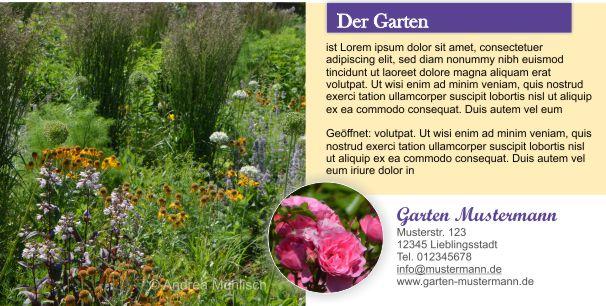 GARTEN-Flyer Rückseite