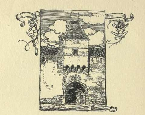 drawing-of-a-castle