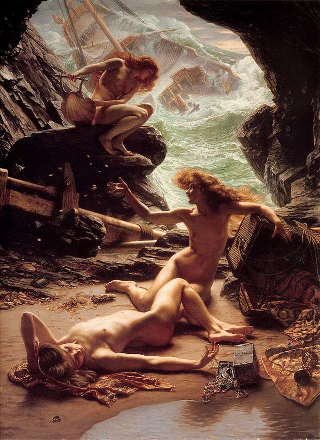 edward-poynter-cave-of-the-storm-nymphs
