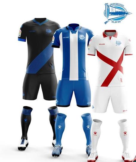 Las De Presenta Nuevas Kelme Alavés Equipaciones Deportivo El DW2YEIH9