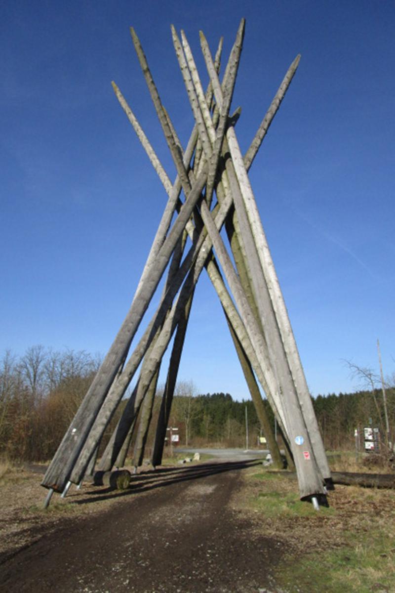 Kyrilltor am Rothaarsteig (Brilon)