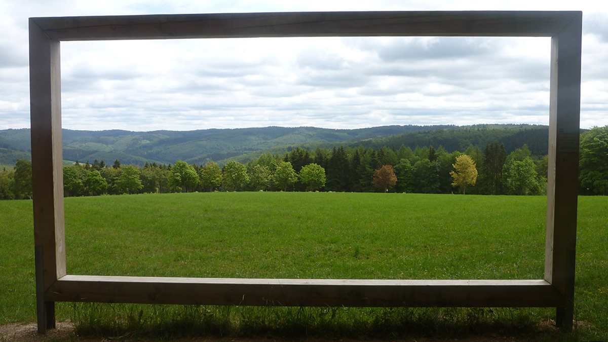 Landschaftsrahmen am Rothaarsteig (Briloner Bürgerwald)