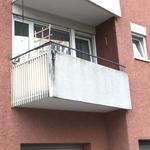 Balkon - Fassade - Außenanstrich VORHER