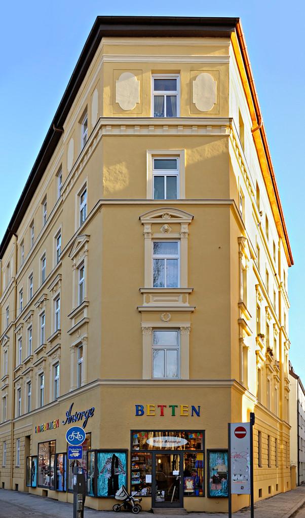 Modernisierung eines Wohnhauses in der Münchner Innenstadt