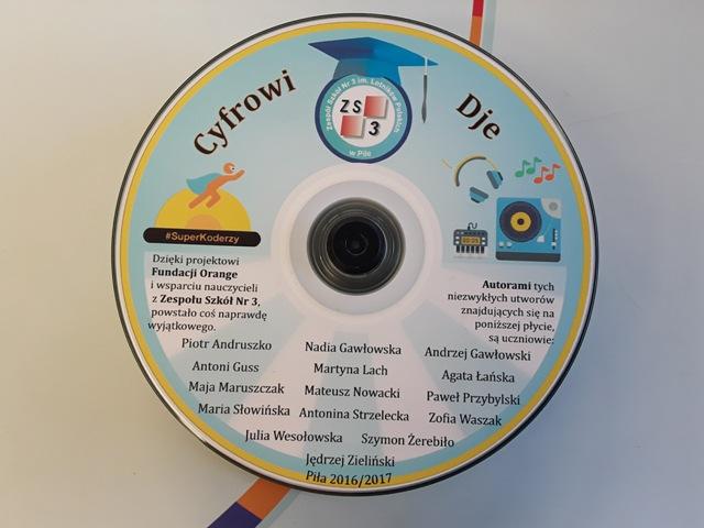 na pamiątkę - płyta z utworami Cyfrowych DJów