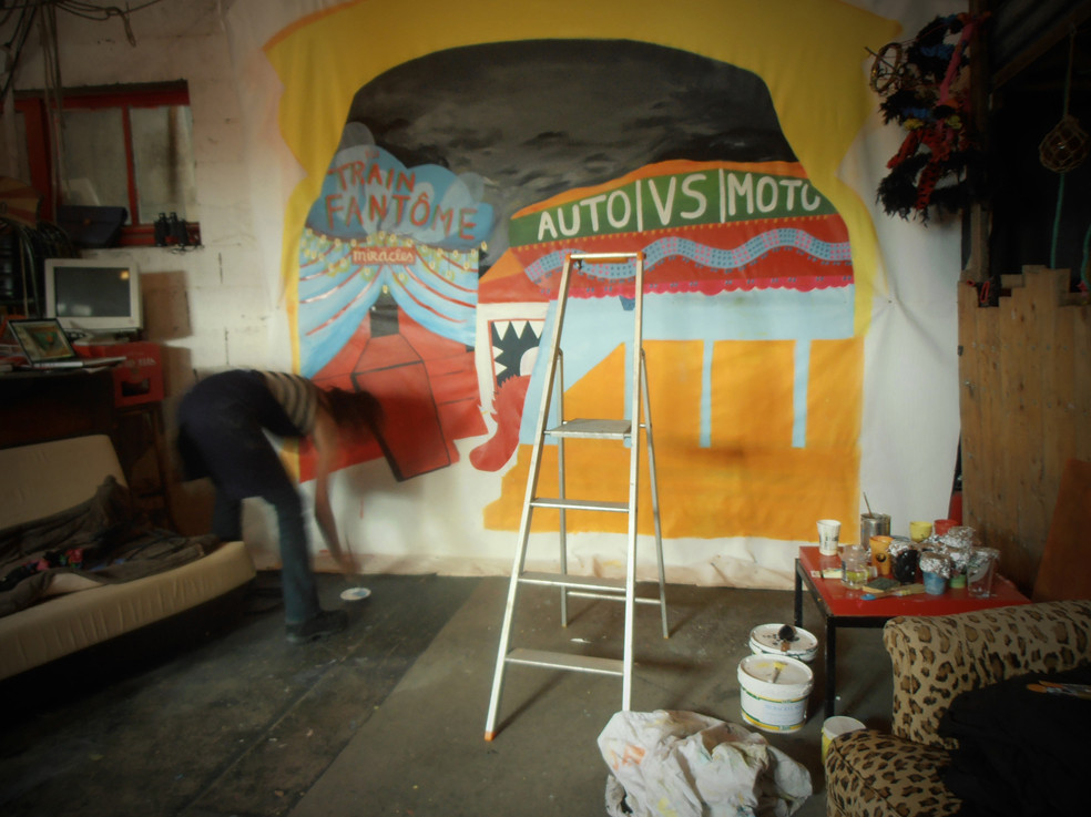 Construction de la Fotomob - Toto Black