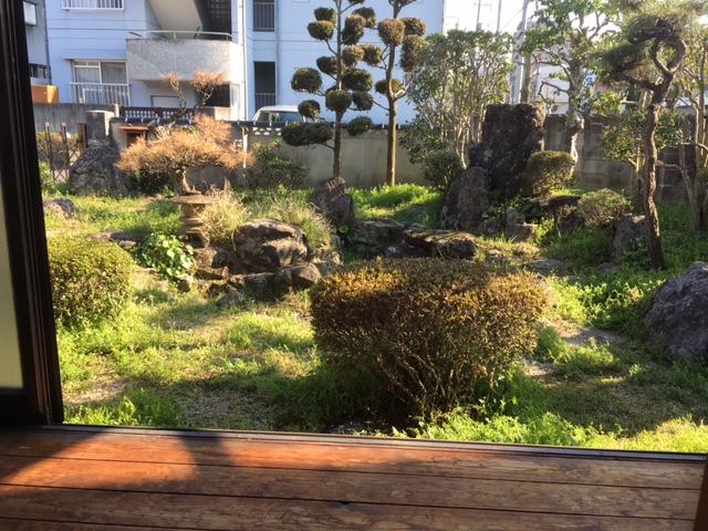 現況:庭園