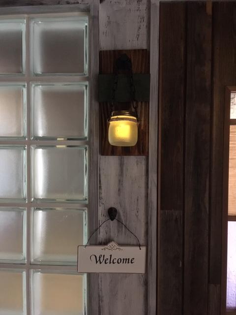 2階若夫妻の入り口