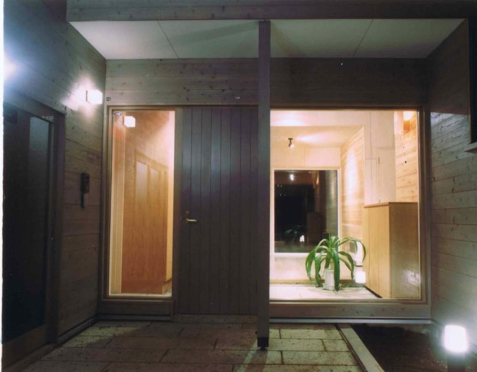 K clinic- 住宅玄関