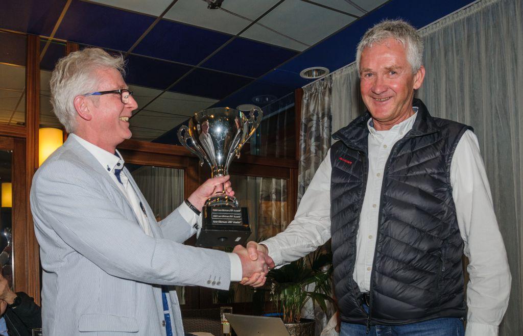 Clubpokal für Günther Samland