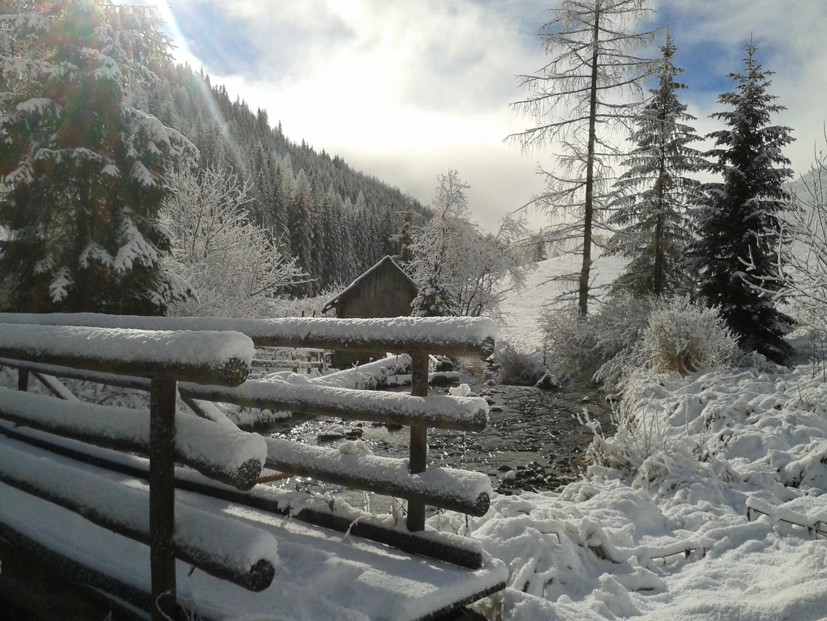 Verträumte und schöne Winterwanderwege