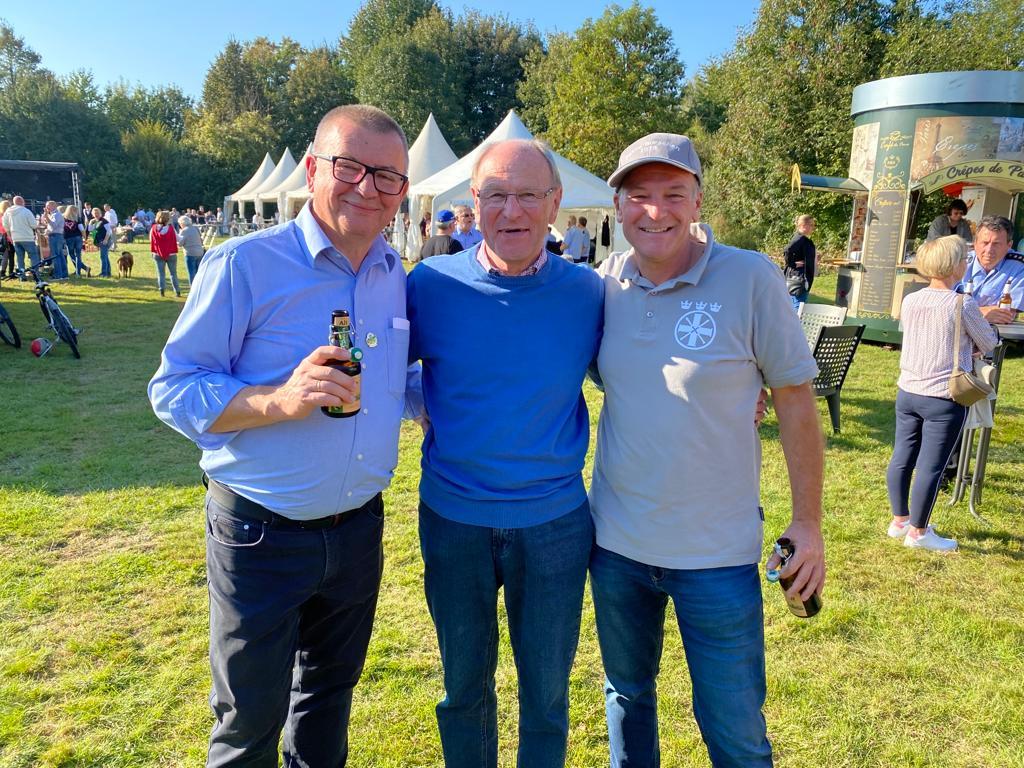 v.l.: Klaus Reichl, Achim Schiffer, Marcus Baumgarth