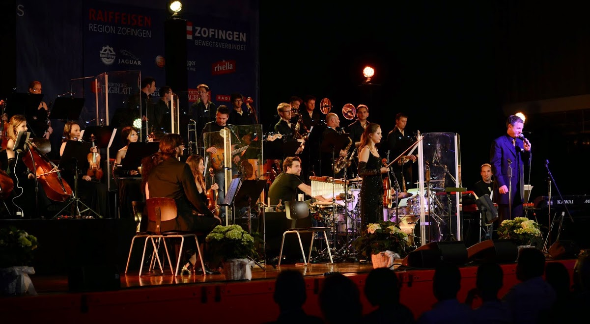 Solo mit Christoph Walter Orchestra